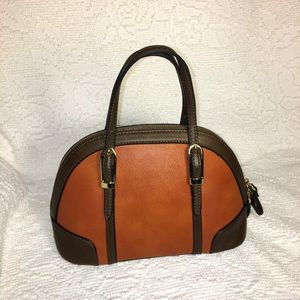 Simply Noelle Small Vegan Leather Dome Handbag